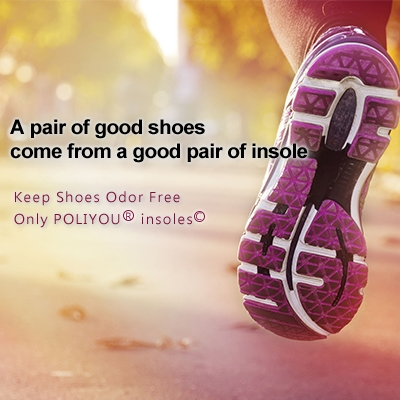A pair of good shoes come from a good pair of insole